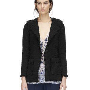 NWT✨ Rebecca Taylor Black Tweed Blazer Jacket